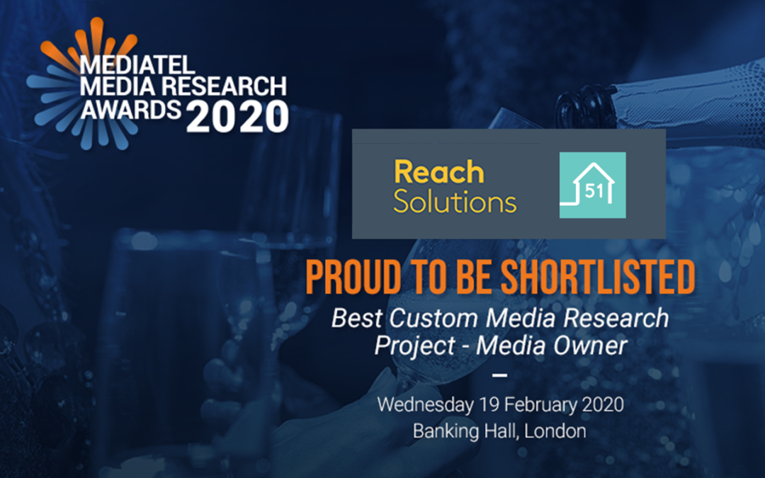 house51 shortlisted at Mediatel Media Research Awards 2020